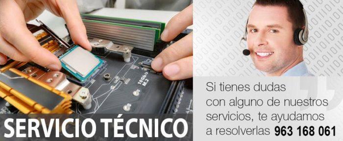 Servicio Tecnico TPV TACTIL VALENCIA