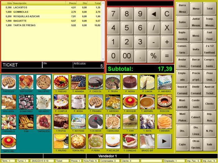 Programa BDP-NET - Panaderías y Pastelerías