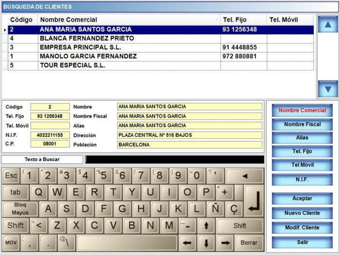 Programa BDP-NET - Servicio a domicilio