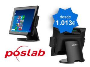 PACK TPV Táctil POSLAB POSS66 J1900 Windows - TPV Tactil Valencia